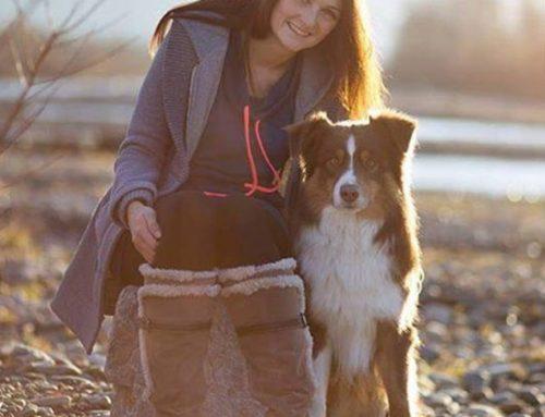 Marina mit Kijani: Therapiebegleithunde-Team