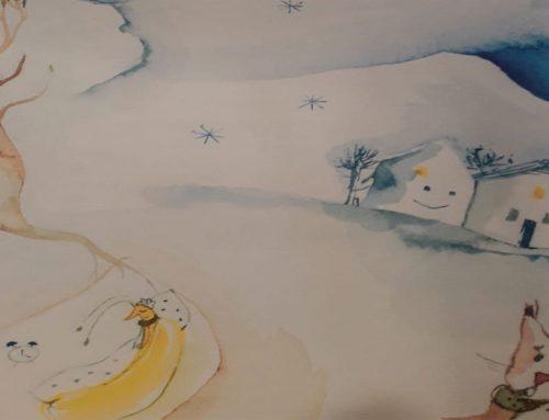 Kindergartenassistentin schreibt Kinderbuch  zugunsten von Schritt für Schritt