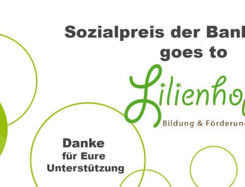 Sozialpreis 2019 für den Lilienhof