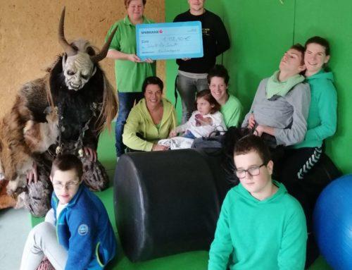 Kaslachpass: Spendenübergabe für Mutige