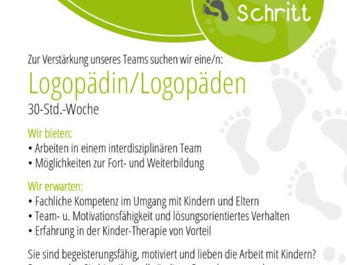 Logopäde / Logopädin gesucht