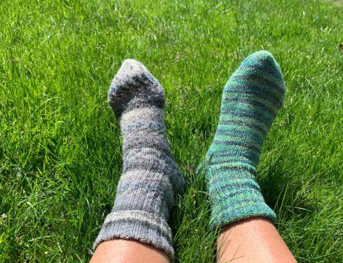Strick-Socken-Aktion